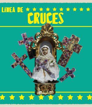 a) Línea de Cruces Pewter